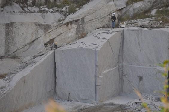 石材採掘場見学 真壁 2013年11月6日 真壁4