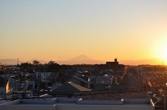 夕焼け富士山 20131129 DSC_0002