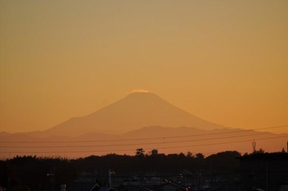 夕焼け富士山 20131129 DSC_0003