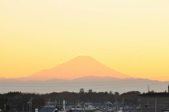 夕焼け富士山 20131129 DSC_0018