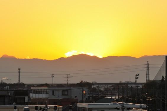夕焼け富士山 20131129 DSC_0020