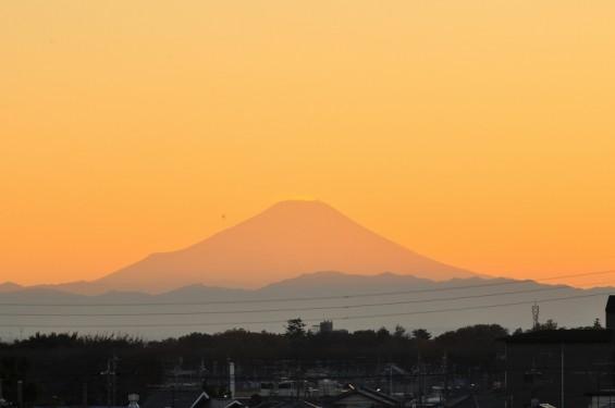 夕焼け富士山 20131129 DSC_0021