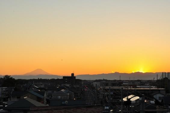 夕焼け富士山 20131129 DSC_0023