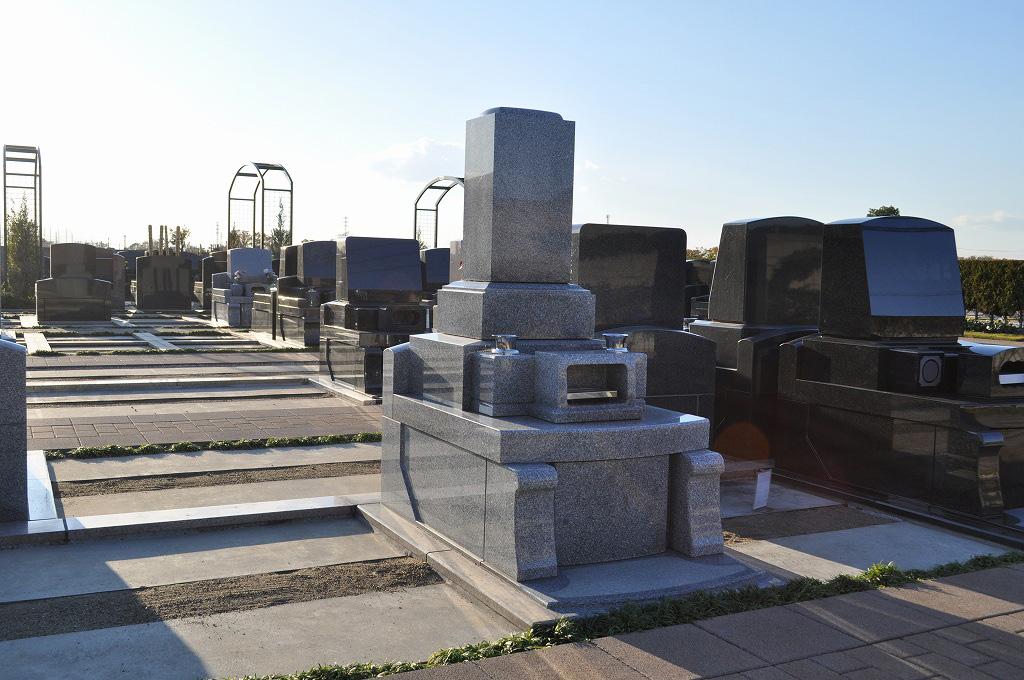 見本展示墓石、サンプル墓石