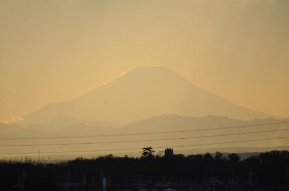 夕方の空と富士山 DSC_0033