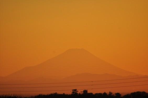 夕焼け富士山 20131214 DSC_0038