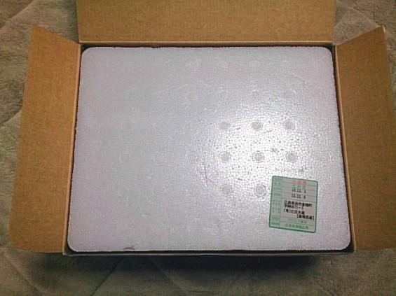 広島産のカキ 箱 DSC_1448
