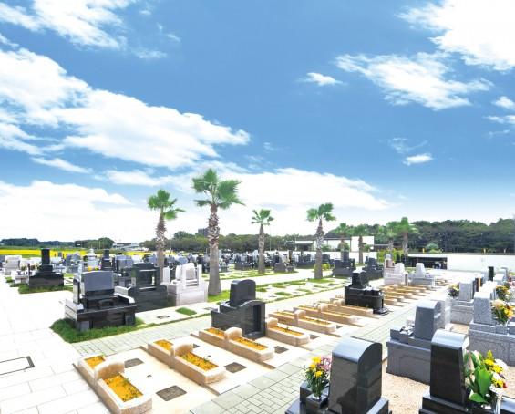 全区画日当たりの良い霊園(桶川霊園)