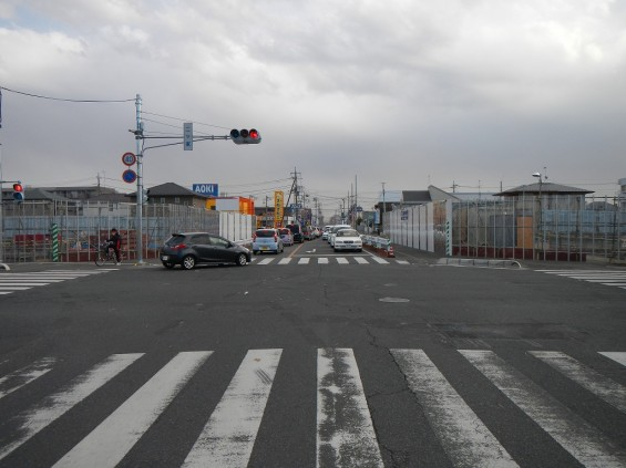 20140126 圏央道北本二ツ家踏切部分 DSCN3039