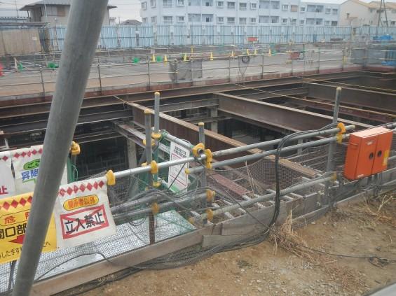 20140126 圏央道北本二ツ家踏切部分 DSCN3048