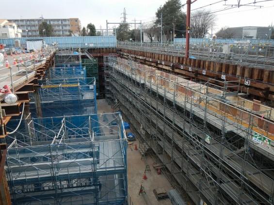 20140126 圏央道北本二ツ家踏切部分 DSCN3075