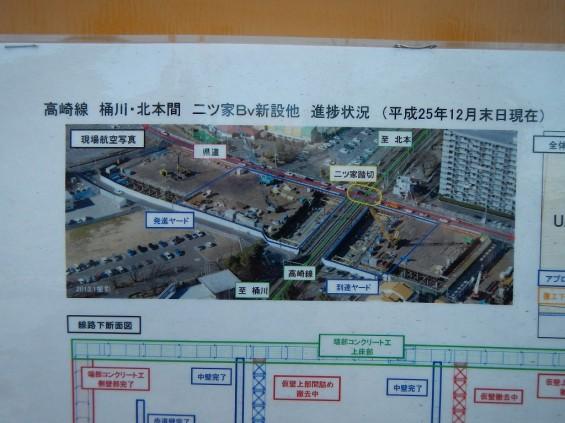 20140126 圏央道北本二ツ家踏切部分 DSCN3087