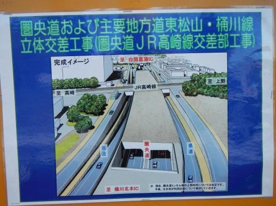 20140126 圏央道北本二ツ家踏切部分 DSCN3089