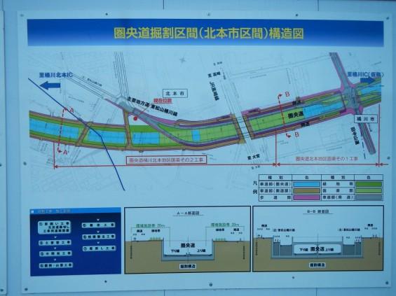 20140126 圏央道北本二ツ家踏切部分 DSCN3101