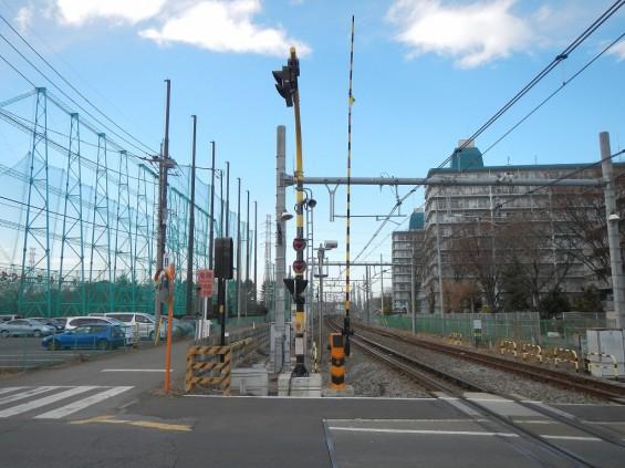 20140126 圏央道北本二ツ家踏切部分 DSCN3118