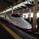 上越新幹線 JR越後湯沢駅 新幹線ホーム とき 2014-02-26 08.41.49
