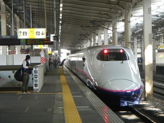 上越新幹線 JR越後湯沢駅 新幹線ホーム とき 赤 後 DSCN3709