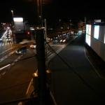 桶川市国道17号坂田交差点に桶川霊園の看板(内照式)ができました 夜 DSCN3815