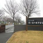 20140320 お彼岸のお墓参りは雨 さいたま市営霊園思い出の里 DSCN3911