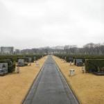 20140320 お彼岸のお墓参りは雨 さいたま市営霊園思い出の里 DSCN3920