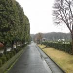 20140320 お彼岸のお墓参りは雨 さいたま市営霊園思い出の里 DSCN3921
