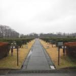 20140320 お彼岸のお墓参りは雨 さいたま市営霊園思い出の里 DSCN3922