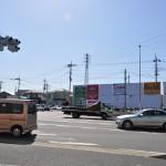 桶川市国道17号坂田交差点に桶川霊園の看板(内照式)ができました DSC_0005
