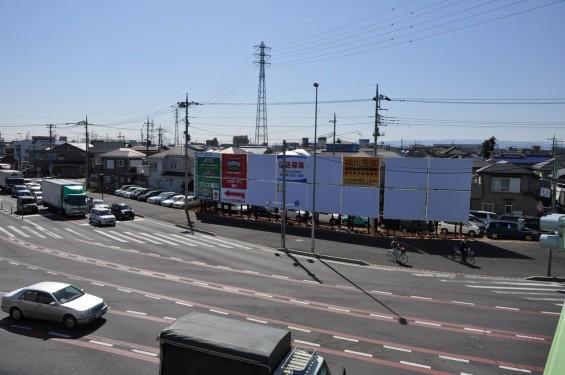 桶川市国道17号坂田交差点に桶川霊園の看板(内照式)ができました DSC_0009