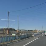 20140126 圏央道進捗状況 桶川市 桶川加納IC、桶川高校入口交差点付近 DSC_0038