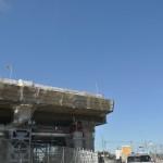 20140126 圏央道進捗状況 桶川市 桶川加納IC、桶川高校入口交差点付近 DSC_0058