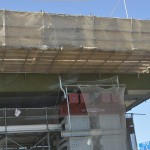 20140126 圏央道進捗状況 桶川市 桶川加納IC、桶川高校入口交差点付近 DSC_0061