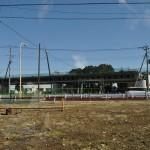 20140126 圏央道進捗状況 桶川市 桶川加納IC、桶川高校入口交差点付近 DSC_0068