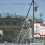 20140126 圏央道進捗状況 桶川市 桶川加納IC、桶川高校入口交差点付近 DSC_0069