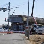 20140126 圏央道進捗状況 桶川市 桶川加納IC、桶川高校入口交差点付近 DSC_0071