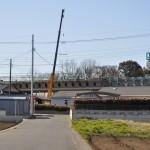 20140126 圏央道進捗状況 桶川市 桶川加納IC、桶川高校入口交差点付近 DSC_0141