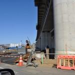 20140126 圏央道進捗状況 桶川市 桶川加納IC、桶川高校入口交差点付近 DSC_0163