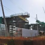 20140126 圏央道進捗状況 桶川市 桶川加納IC、桶川高校入口交差点付近 DSC_0169