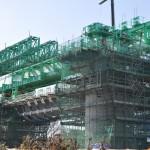 20140126 圏央道進捗状況 桶川市 桶川加納IC、桶川高校入口交差点付近 DSC_0176