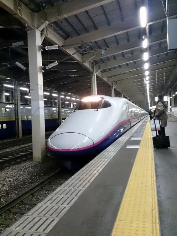 上越新幹線 JR越後湯沢駅 新幹線ホーム とき DSC_1716
