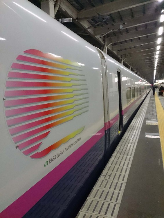 上越新幹線 JR越後湯沢駅 新幹線ホーム とき DSC_1717