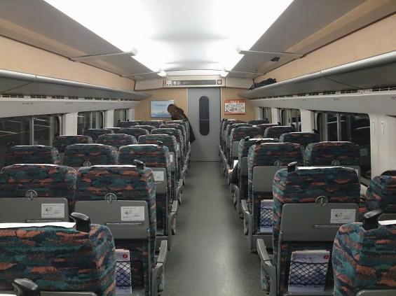上越新幹線 JR 車内 とき DSC_1718