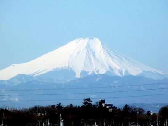 20140311 埼玉県上尾からの富士山 IMG_0229
