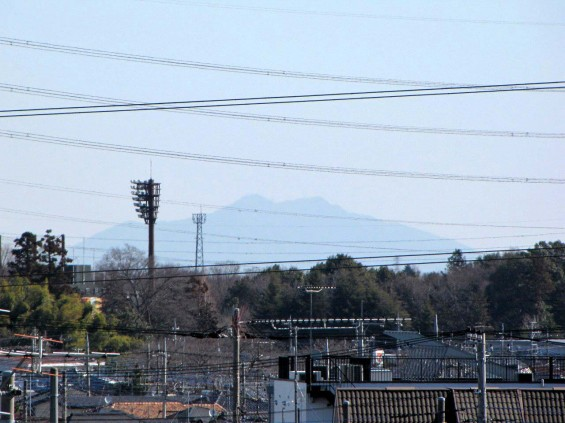20140311 埼玉県上尾からの筑波山 IMG_0236