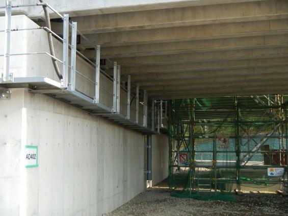 20140418 圏央道進捗状況 桶川市上日出谷 圏央道を跨ぐ陸橋周辺DSCN3980