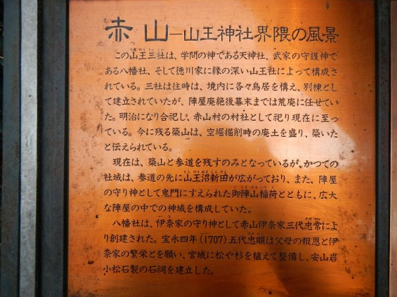 埼玉県川口市 赤山城(赤山陣屋)DSCN3623