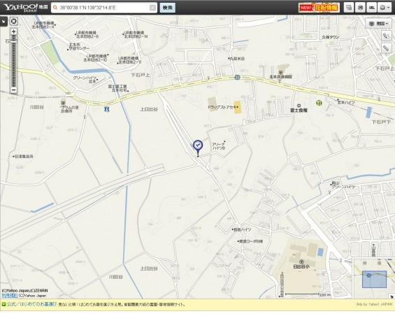 20140418 圏央道進捗状況 桶川市上日出谷ヤフー地図2