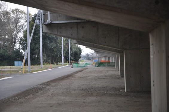 20140418 圏央道進捗状況 桶川市上日出谷 圏央道を跨ぐ陸橋周辺DSC_0093
