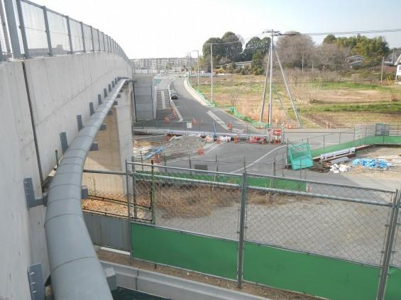 20140418 圏央道進捗状況 桶川市上日出谷 圏央道を跨ぐ陸橋周辺DSCN3956