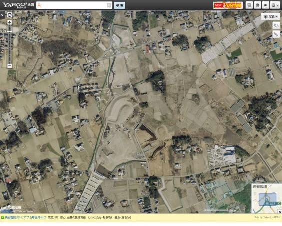 20140410 保存用画像ヤフー地図 圏央道北本桶川IC航空写真