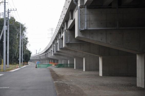 20140418 圏央道進捗状況 桶川市上日出谷 圏央道を跨ぐ陸橋周辺DSC_0095